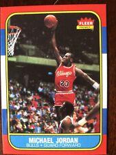 michael jordan rookie card fleer 1986 reprint SEE DESCRIPTION