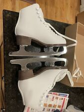Riedell ice skates 110 Size 6 Medium Excellent Condition