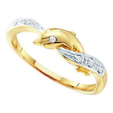 0.04ctw Diamond 10k Yellow Gold Ring