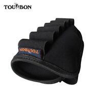 Tourbon 6 Round Buttstock Ammo Carrier Tactical Shotgun Shell Holder Neoprene