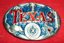 TEXAS BELT BUCKLE SCROLL BUCKLES PC