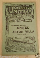 1925/26 Central League: Sheffield United Res. v Bolton Wanderers Res - 31st Oct.