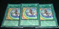 Yugioh Rainbow Veil PTDN-EN045  Common NM/MINT 3X 1st Edition