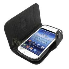 Flip Wallet Leather Case Cover for Samsung Galaxy S Duos 2, S7582/S7580/S7562