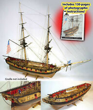 MODEL SHIPWAYS US BRIG SYREN wood kit NEW
