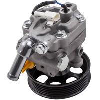 Power Steering Pump For Subaru Legacy Outback 3.0L H6 DOHC w/ SENSOR 05-09