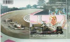 Mercedes McLaren Formula 1 World Champion Mika Hakkinen Finland MNH Sheet 1999