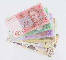 More details for 2003-2015 ukraine 10 20 50 100 500 hryven 6 banknotes p119 120 121 122 p227a unc