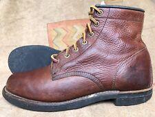 "Men's Frye Goodyear welt ""Arkansas"" Leather Brown Size 7.5 M"