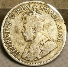 1933 South Africa 3 Pence Silver Coin King George V