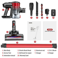 ONSON Cordless Handheld Stick Vacuum Cleaner all Plus Accessories 12kpa
