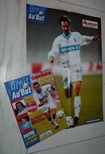 FOOTBALL DROIT AU BUT N°5 1998 OLYMPIQUE MARSEILLE OM DUGARRY BLANC GRAVELAINE