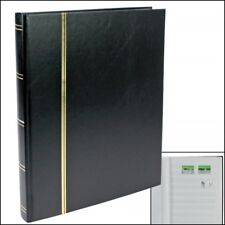 Stamp Collecting Album - Stock book Black - Small Book Format - 9 Pages - MINT