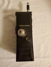 Realistic TRC-100B 5 watts, 6 channel CB radio/tranciever with case