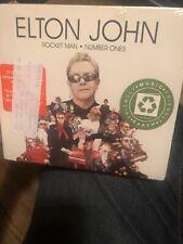 Elton John - Rocket Man: Number Ones Sealed CD Rmst, Special Packaging NEW