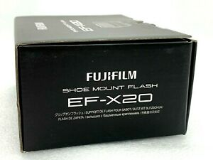 New Fujifilm EF-X20 Flash