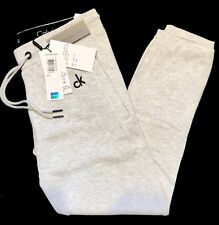 Calvin Klein Grey Hatch Sweatpants, RRP £65, Large GREY