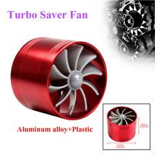 "Universal 2.5"" Turbo Cold Air Intake Hose Single Fan Turbonator Fuel Gas Saver"