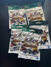 (5) KRE-O TRANSFORMERS MICRO CHANGERS KREO Collection Blind Bags - LOT of 5