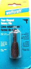 "Wolfcraft 2536  Rotary Rasp Pear Shape 5/8"" x 1-1/8"""