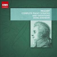 MOZART: THE COMPLETE PIANO SONATAS AND VARIATIONS NEW CD