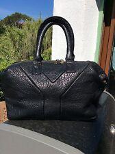 Superbe sac cuir noir Easy Yves Saint Laurent tbe Authentique