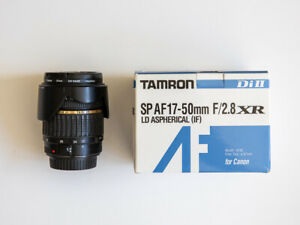 Tamron SP AF 17-50mm f/2.8 XR Di II (IF) Lens with Filter (Canon Mount)