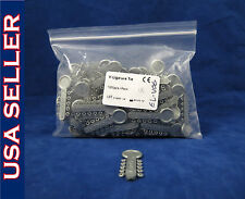 Dental Orthodontic Ligature Elastic V-Ties Bands Pack /1000 Silver Gray EL-V06