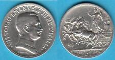 (3) - 1 LIRA 1915 QUADRIGA BRIOSA REGNO D' ITALIA VITTORIO EMANUELE III