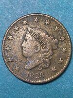 1828 USA Coronet Head Large Cent