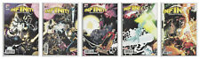 INFINITY COUNTDOWN 1 2 3 4 & 5 KUDER CONNECTING VARIANT SET 2018 Thanos NM- NM