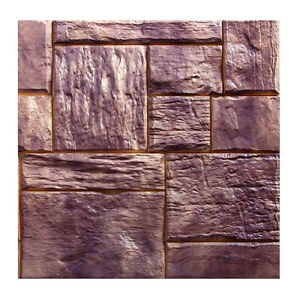 Polyurethane Mat Stamp CATALONIA   Texturing Stone Texture Concrete Cement Brick