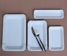 Würstchenteller Porzellan Teller Wurst Bratwurstteller Kuchenplatte Wurstplatte