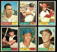 1961 Topps Baseball: Choose Your Card #209 to #329    ***UPDATED 09/10/2021***