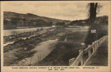 Montpelier VT 1927 Flood Damage VINTAGE EXC COND Postcard #9