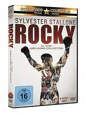 Rocky 1-6 - The Complete Saga [6 DVDs] DEUTSCH Rocky II II III IV V VI DVD