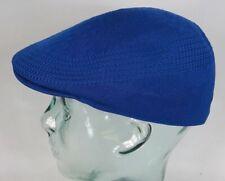 KANGOL TROPIC VENTAIR 507 Flatcap royal blau Mütze Ivy Cap Sommermütze Gatsby NE
