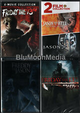 Friday the 13th DVD Lot Ultimate Complete 12 Movie Collection Brand NEW