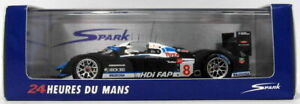 Spark Models 1/43 Scale S1280 - Peugeot 908 HDI FAP Team Peugeot #8 5th LM 2008