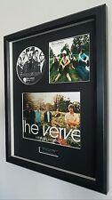 More details for the verve-urban hymns-framed original cd-ltd edition-metal plaque-certificate