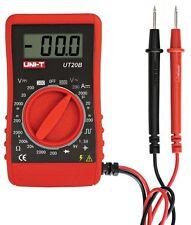 Uni-t ut20b LCD electricidad cuchillo Multimeter Voltmeter medidor de mini Compact