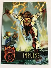 Fleer Skybox DC Comics Firepower Trading Cards #71 Impulse