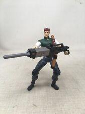 Chris Redfield Resident Evil ToyBiz Figure Complete w/ Flamethrower + Knife