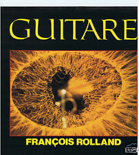LP FRANCOIS ROLLAND JEAN CLAUDE PIERRIC GUITARE (LIBRARY)