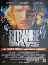STRANGE DAYS - BIGELOW / JAMES CAMERON / FIENNES - ORIGINAL LARGE MOVIE POSTER