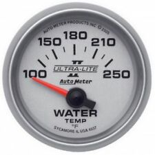 "Auto Meter 4937 2-1/16"" Ultra-Lite II Electric Water Temp Gauge, 100-250 °F"