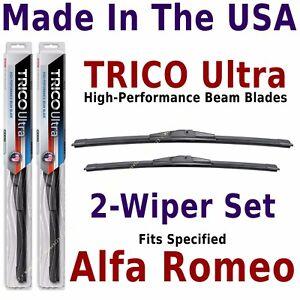Buy American: TRICO Ultra 2-Wiper Blade Set: fits listed Alfa Romeo: 13-24-18