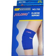 1 Pair Elastic Stretch Elbow Protector Brace Guard Pain Support Sports Brand New