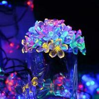Solar String Lights Flower Bulbs Solar Garden Waterproof Decorative Light M0I7