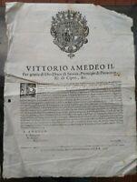 1703 GUERRA SUCCESSIONE SPAGNOLA A TORINO ESPORTAZIONI PER NON FAVORIRE I NEMICI